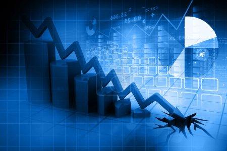 blau, Geld, Unternehmen, Markt, Preis, Risiko - B53566081