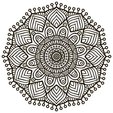 vektor runde kreis element design eingestellt