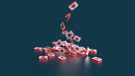 rot, Hintergrund, Element, Design, Geschenk, Gestalt - B442386892
