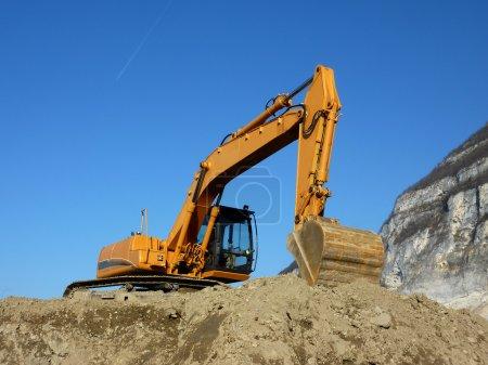 auf, Unternehmen, Ausrüstung, Metall, Orange, Fahrzeug - B3894722