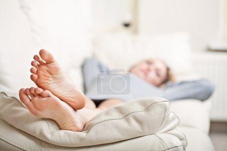 Freizeit, weiß, Schwerpunkt, hell, Person, Mädchen - B5800496